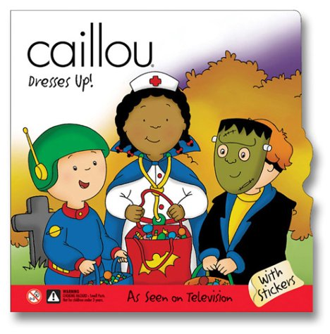 Caillou Dresses Up (Scooter) pdf