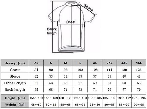 Plan A Herren Outdoor Sport MTB Fahrradbekleidung Fahrradtrikot Radsport Kurzarmtrikot Radfahren Trikot