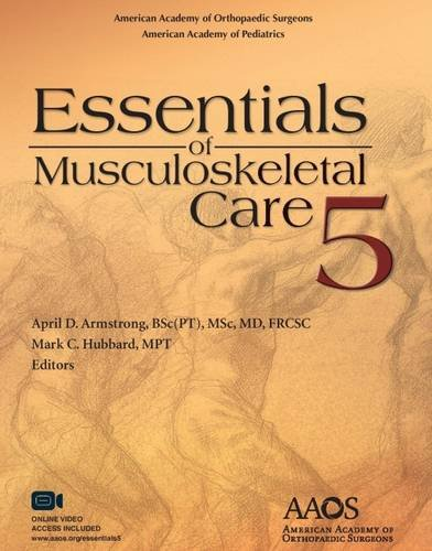 New used books for american academy of orthopaedic surgeons essentials of musculoskeletal care 5th edition 5th edition 2015 fandeluxe Gallery