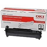 Oki 43460208 - Tambor para impresora, color negro