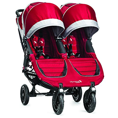 Baby Jogger 2015 City Mini GT Double Stroller, Crimson Gray