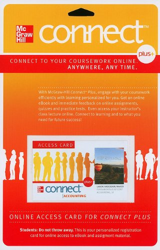 Amazon connect access card for fundamentals of cost accounting connect access card for fundamentals of cost accounting mcgraw hill connect access codes fandeluxe Images