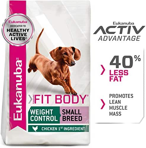 Dog Food: Eukanuba Fit Body Weight Control Small Breed