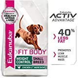 Eukanuba Fit Body Weight Control Small Breed Dry D...