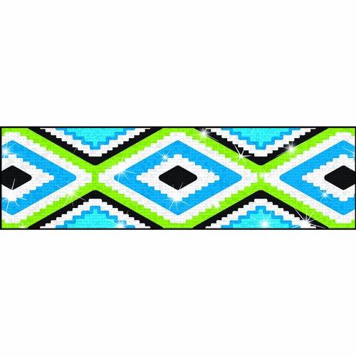 TREND enterprises, Inc. Aztec Blue Sparkle Plus Bolder Borders, 32.5'