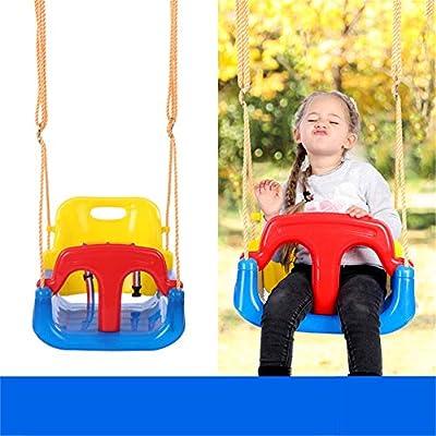 Columpio de jardín para niños Jaketen - Juego de columpios for columpios con asiento for niños pequeños 3 en 1 for columpios for juegos infantiles, columpios for bebés y adolescentes para juegos