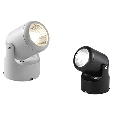 Zengqhui Luces de Techo LED Giratorio de 360 Grados de Techo ...