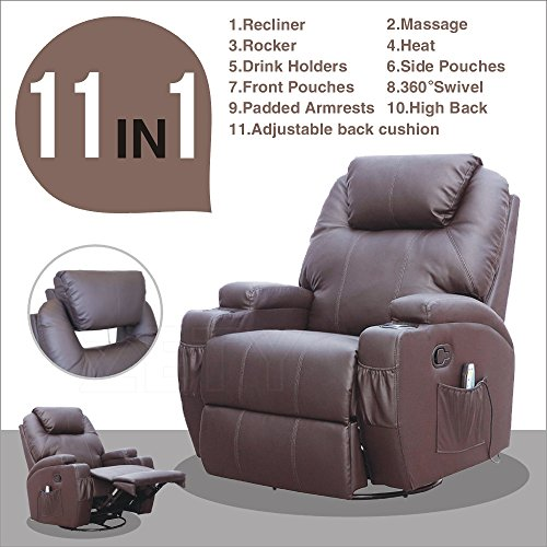 Top 5 Best Recliner With Heat And Massage For Sale 2017