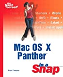 Mac OS X Panther in a Snap, Brian Tiemann and Schmo, 0672326124