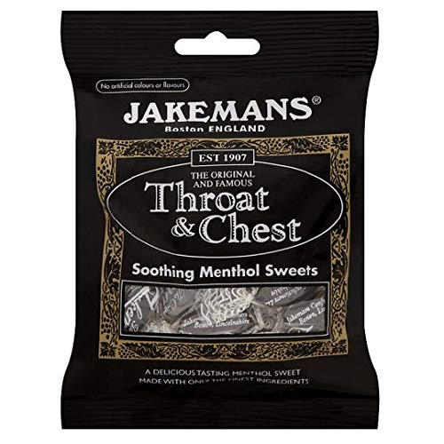 Jakeman's Throat and Chest Anise Flavored Lozenges 100g (Pack of 4) (Best Lozenges For Sore Throat Uk)