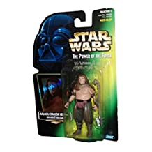 Star Wars Power of the Force Malakili Rancor Keeper Green Card Action Figure with Long-handled Vibro Blade Collection 2 By Kenner