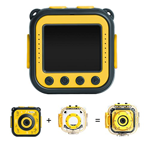 Prograce Kids waterproof camera 1080 HD