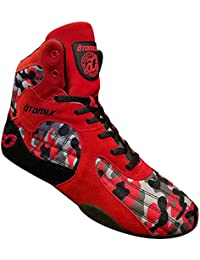 Red/Camo Stingray Escape Bodybuilding Weightlifting MMA & Boxing Shoe