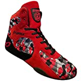 Otomix Women's Stingray Escape Bodybuilding Lifting MMA & Wrestling Shoes Red/Camo 6