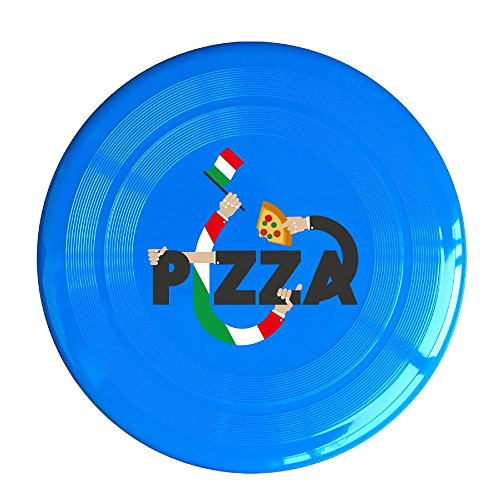 Frisbee Creative Pizza Pets Safe Plastic Frisbee Flying Saucer Flying Disc Sport Disc Fun Flyer Frisbee