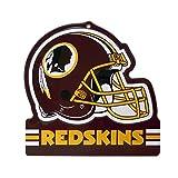 "Party Animal Washington Redskins Embossed Metal NFL Helmet Sign, 8"" x 8"""