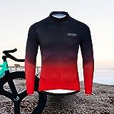 voofly Cycling Shirts Men Long Sleeve Mountain Bike