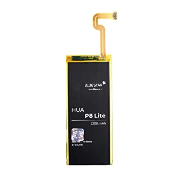Blue Star Premium - Li-Ion 2200 mAh capacity lithium Quick charge 2.0 Compatible with Huawei Ascend P8 Lite