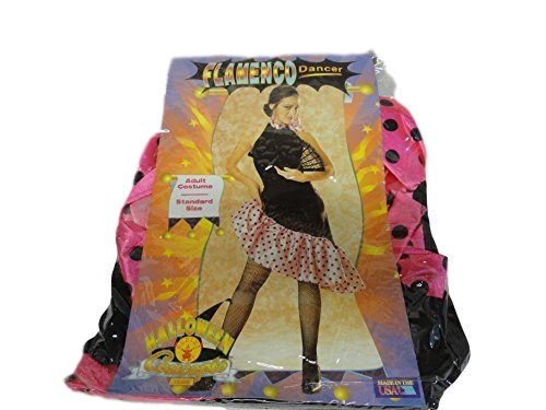 Adult Flamenco Dancer Costume - Standard Size - Flamenco Dancer Costume Man