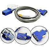 Denshine® Compatible SpO2 Adapter Extension Cable for Nellcor DOC-10, 3M (Dark Gray)