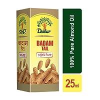 Dabur Badam Tail 100% Pure Almond Oil - 25 ml