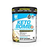 BPI Sports -Keto Bomb, French Vanilla Latte, 18 Servings