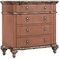 Pulaski Gavin Accent Chest, 45.5 by 16.5 by 34.75-Inch, Salmon