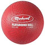 """16"""" Small Playground 2-Ply Rubber Red Ball"""