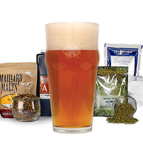 - John Q. Adams Marblehead Lager With Specialty Grains - HomeBrewing Beer Brewing Recipe Kit - 5 Gallons Malt Extract Ingredients