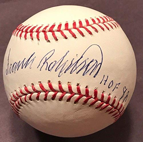 (FRANK ROBINSON (Orioles/Reds) authentic signed