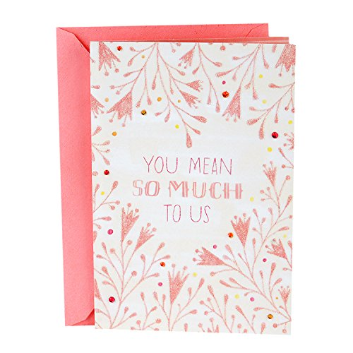 Hallmark Mother's Day Card from All (Beauty, Love, and Happiness)]()