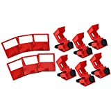 Brady Clamp-On Breaker Lockouts, 480/600 VAC (12 Pack)