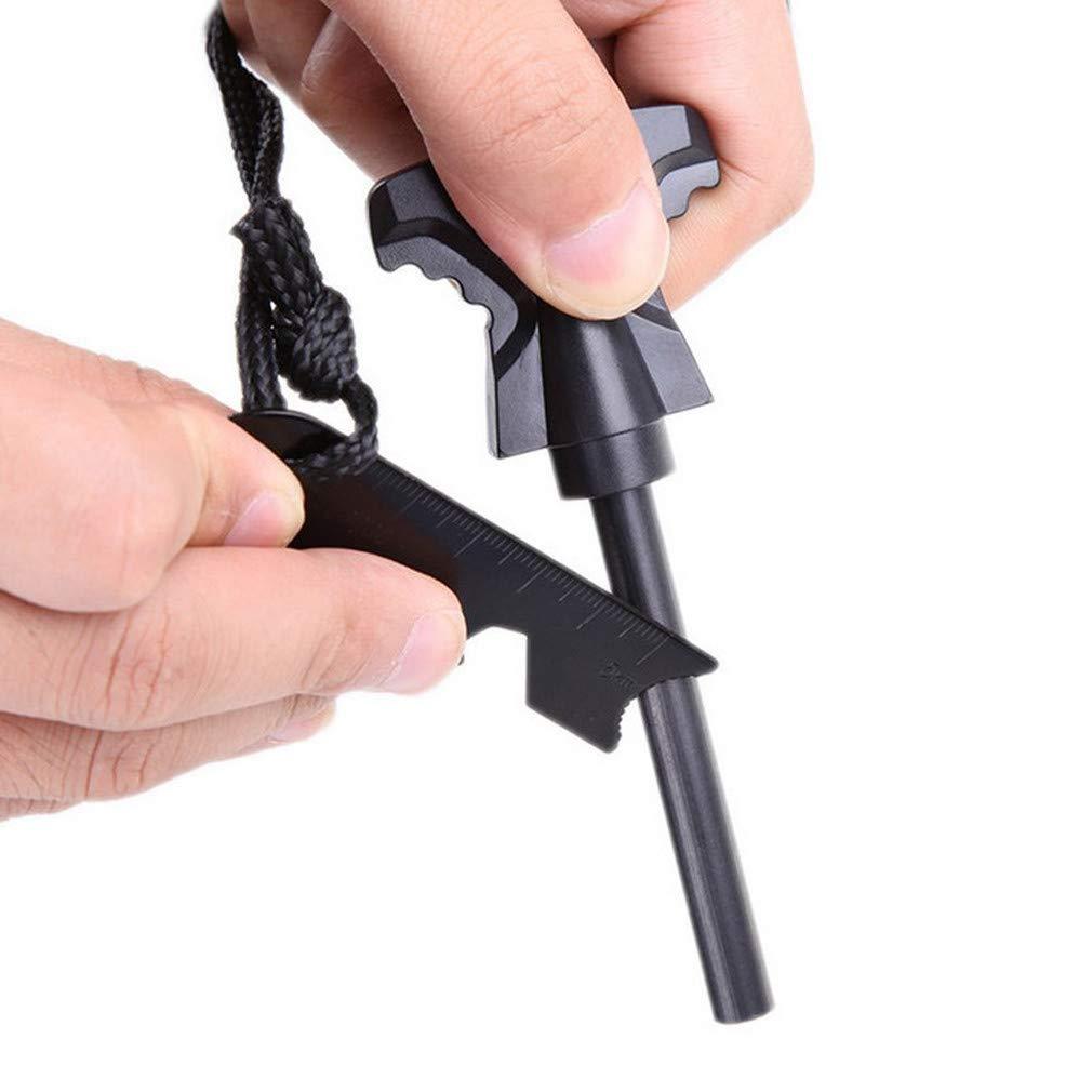 Lila Paracord Survival Armband mit Verstellbarer Edelstahlschnalle Fallschirm-Schnur-Armband Unisesx Multifunktions-Rettungsger/ät f/ür Outdoor-Camping Wandern von TheBigThumb