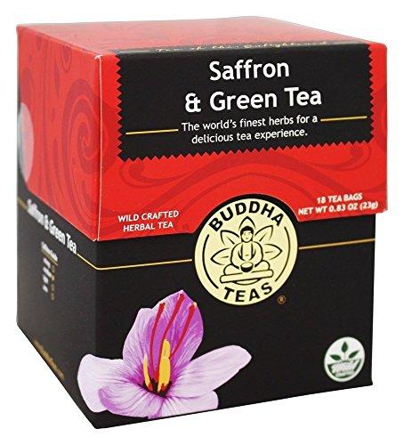 Buddha Teas Saffron Green Count