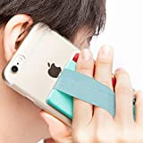 SINJIMORU Phone Grip with Card Holder for Phone, Stick on Phone Wallet with Phone Finger Gripper Storing Credit Cards. Strap Pocket for Cell Phone. Sinji Pouch Band, Mint Pouch and Mint Band.