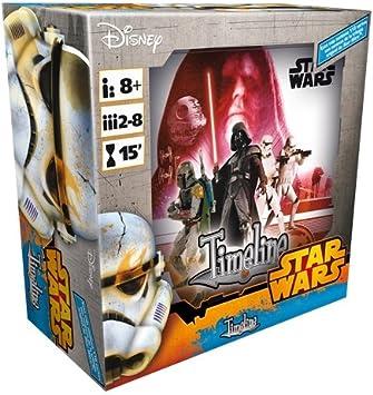 Asmodee- Juego de Cartas Timeline: Star Wars IV-V-Vi (TIM06ES): Amazon.es: Juguetes y juegos