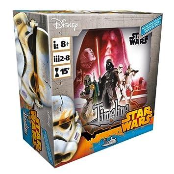Asmodee- Juego de Cartas Timeline: Star Wars IV-V-Vi (TIM06ES)