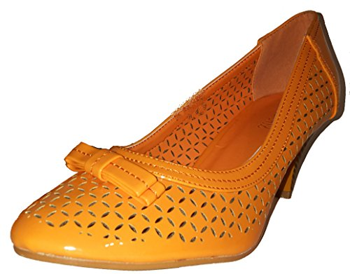 WoMen Orange W 3 Platform Hohenlimburg EFIPwnPqx