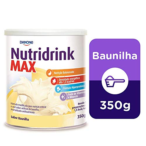 Nutridrink Max Pó Baunilha Danone Nutricia 350g