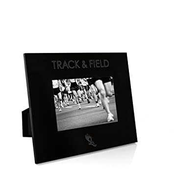 Amazoncom Simple Track Field Frame Engraved Track And Field