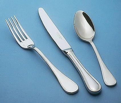 Guy Degrenne - Verlaine 5 Piece Flatware Set, Stainless Steel Mirror Finish Cutlery