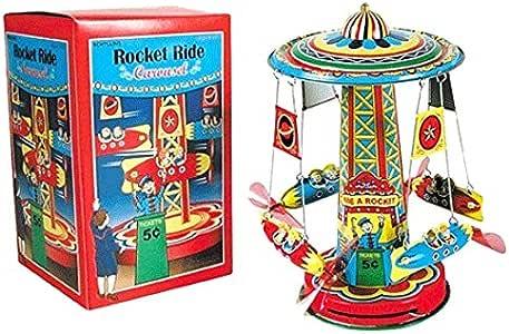 Tobar Juguetes de Metal Rocket Hoja Carrusel Carrusel 601972 ...