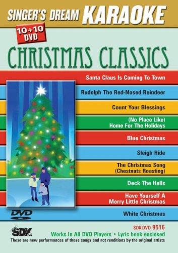 Singer's Dream Karaoke SKD9516 DVD - Christmas (Classics Karaoke Dvd)