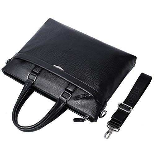 Unisexe Package Bandoulière Portable Hommes Mallette À Simple Mode Décontracté Brown La Mens Diagonale Sac Business AnSvqx4z