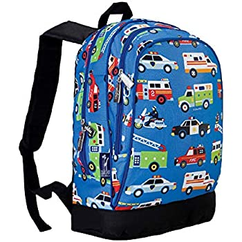 Amazon.com | Stephen Joseph Fire Truck Backpack and Lunch