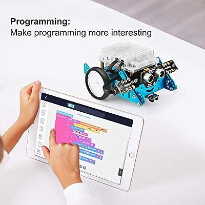Makeblock Interactive Light & Sound robot add-on pack Designed for mBot, 3-in-1 Robot Add-on Pack, 3+ Shapes: Everything Else