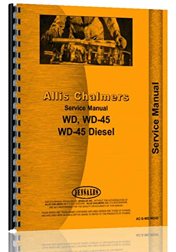 - Allis Chalmers WD45 Tractor Service Manual (1953-57)