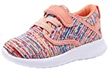 COODO Toddler Kid's Sneakers Boys Girls Cute Casual Running Shoes (6 Toddler,Multicoloured)