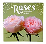 2018 Beautiful Roses Monthly Wall Calendar, 12 x 24 Inches