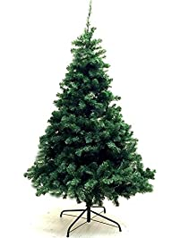 Xmas Finest 6u0027 Feet Super Premium Artificial Christmas Pine Tree With Solid  Metal Legs
